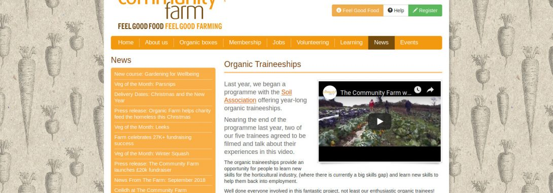 Organic Apprenticeships with Bristol Drugs Project